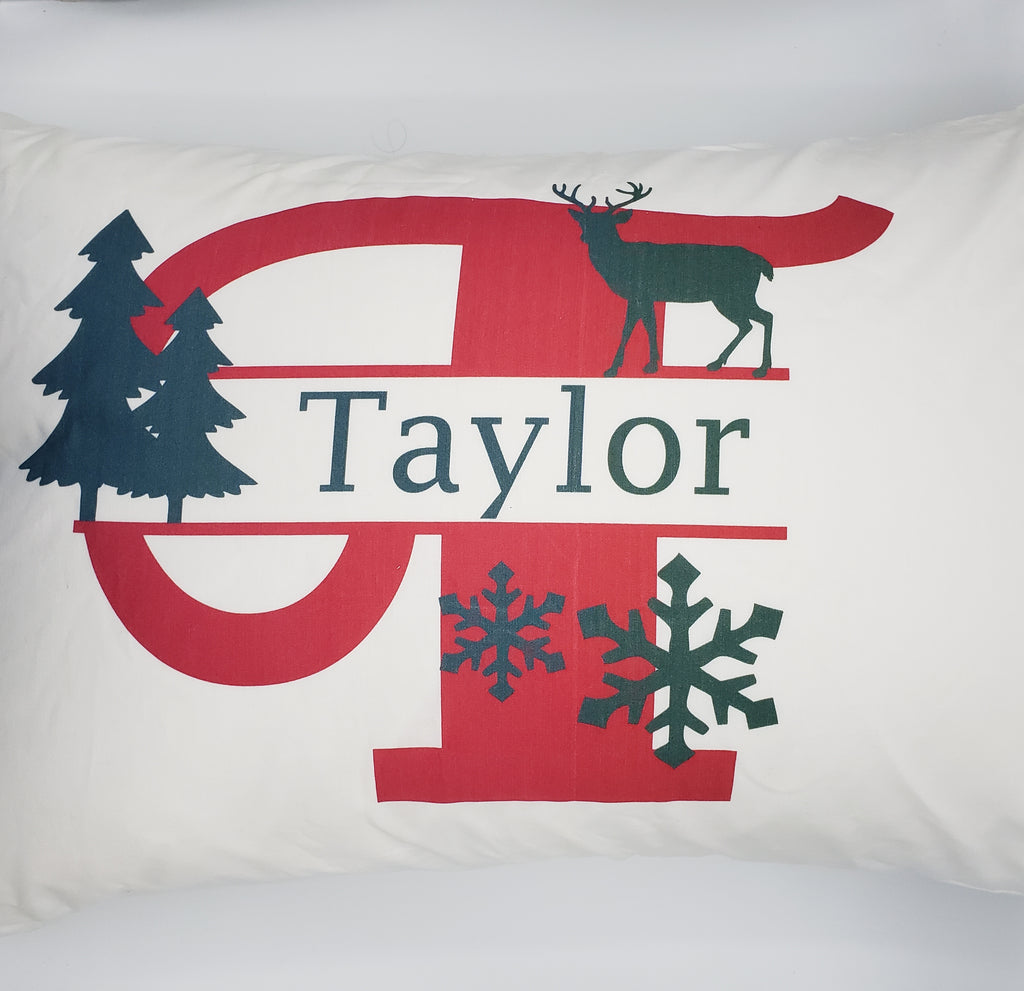 Custom Christmas Pillow Case
