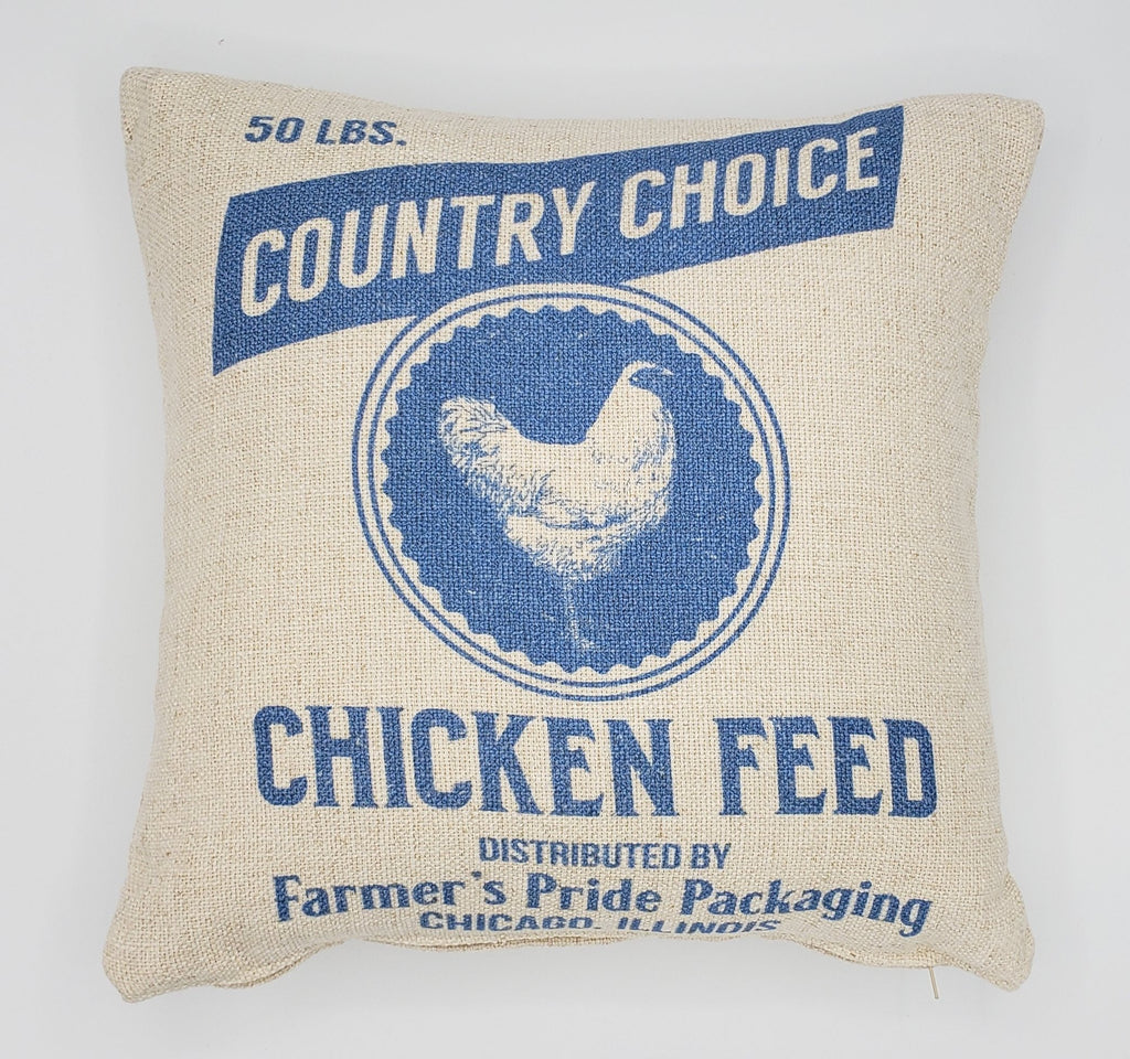 Country Chicken Pillow