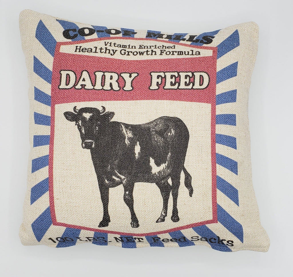 Dairy Cow Feed Pillow