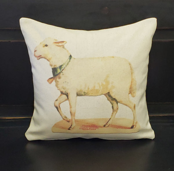 Sweet Lamb Pillow