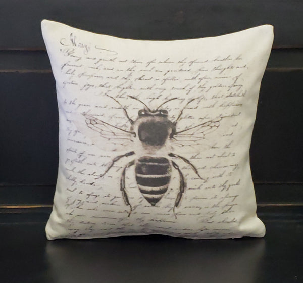 French Bee Pillow