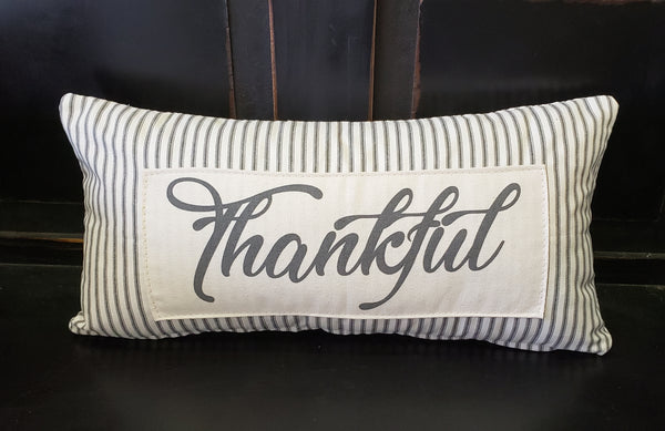 Thankful Patch Pillow
