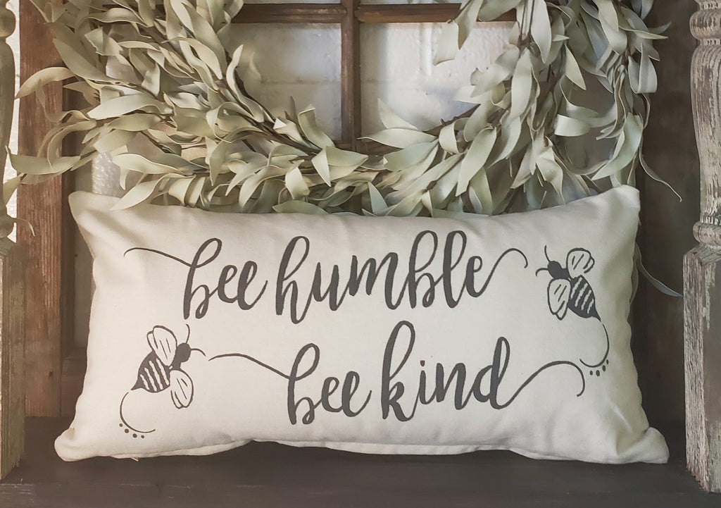 Bee Humble Be Kind 10x20 Cover