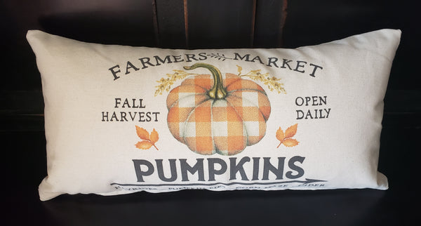 Farmers Market Pumpkins 10x20 Cover