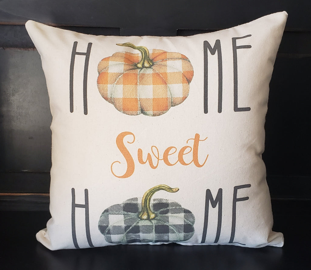 Home Sweet Home Pumpkin 16x16 Cover