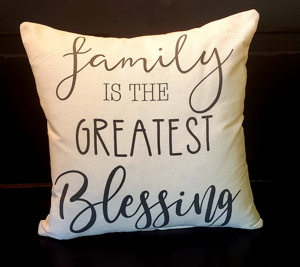 Family Greatest Blessing 16x16 Cover