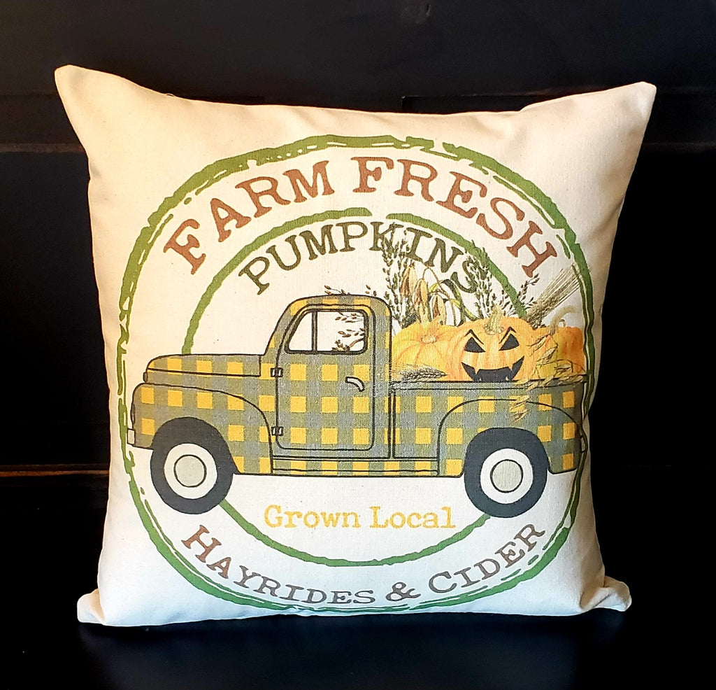 Farm Fresh  Harvest & Cider 16x16 Cover