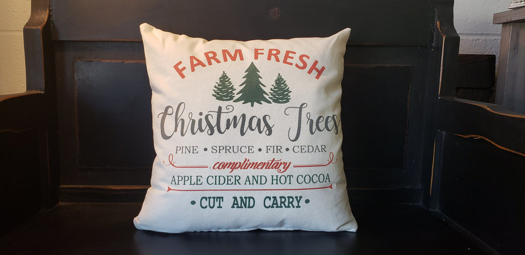 Farm Fresh Trees 16x16 Cover
