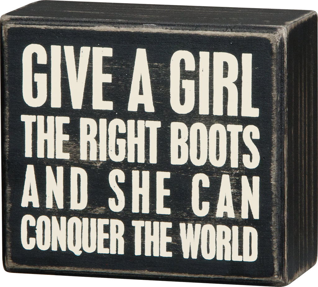Right Boots  Conquer the World