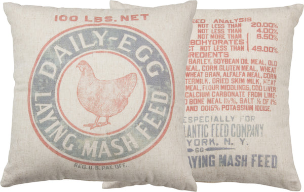 Chicken  Mash Pillow Insert Included