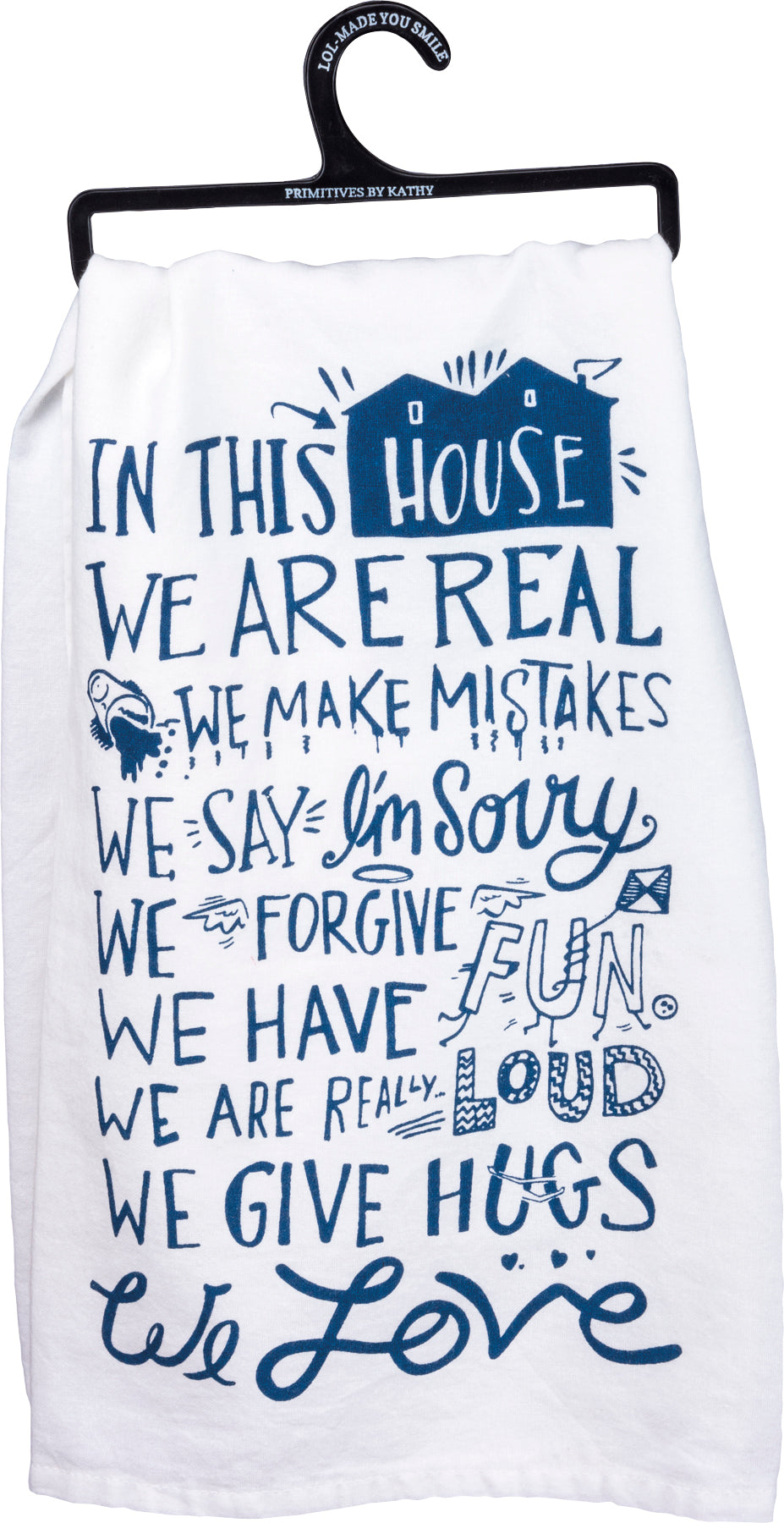 House Rules Kitchen Towel