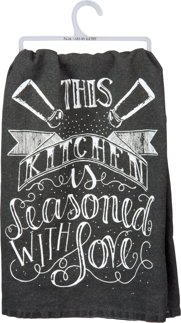 This Kitchen Is Seasoned With Love Towel