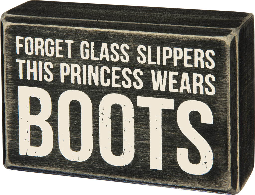 Forget Glass Slipper This Princess Wear Boots