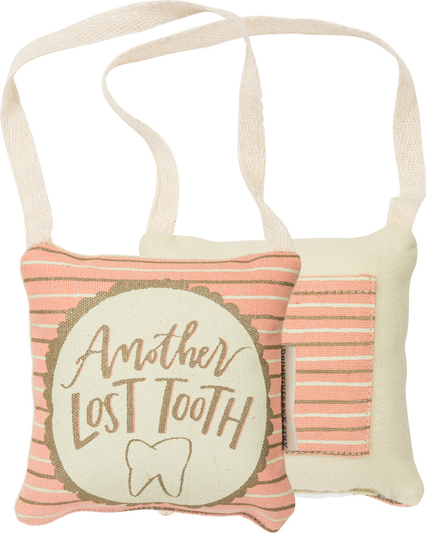 Lost Tooth Pillow Pink