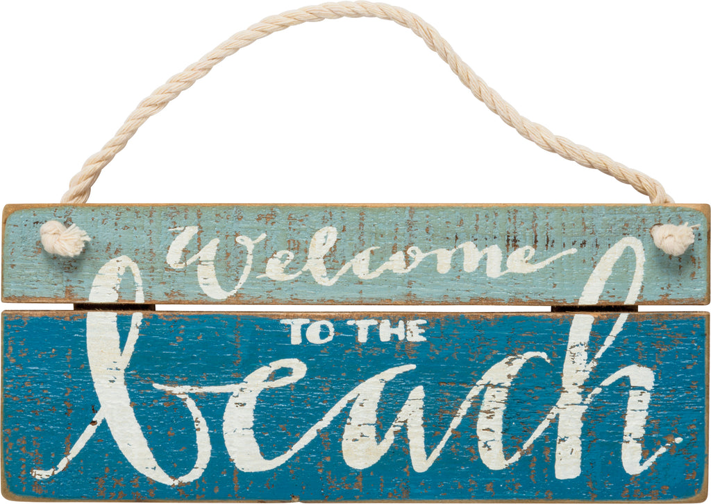 Beach House Slat Sign
