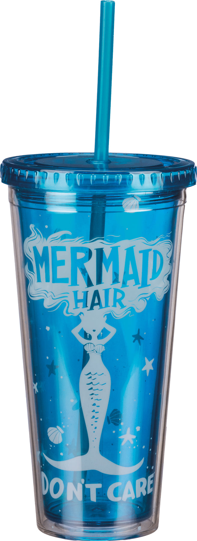 Mermaid Hair Don't Care Tumbler