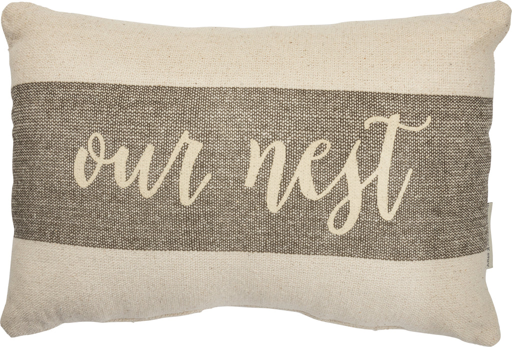 Our Nest Pillow Insert Included
