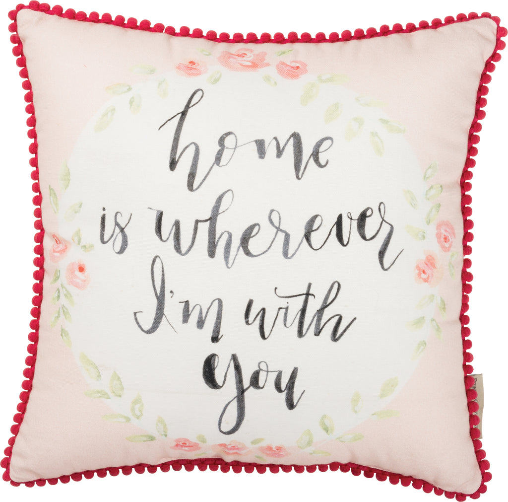 Home Is Wherever I'm With You Insert Included