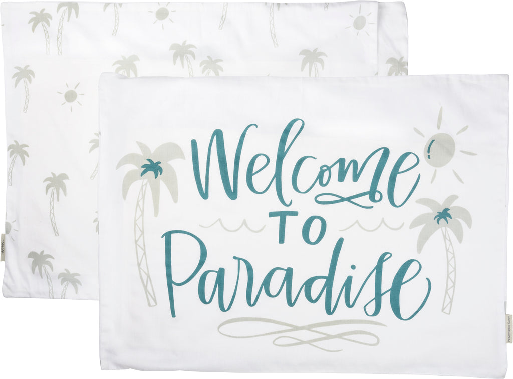 Paradise Pillow Case