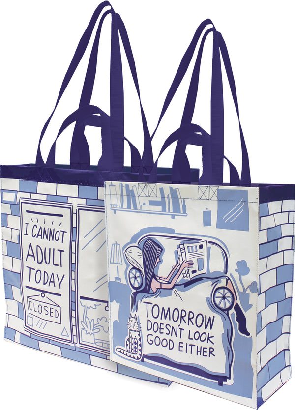 Can't Adult Today Tote
