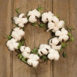 Cotton & Willow Wreath