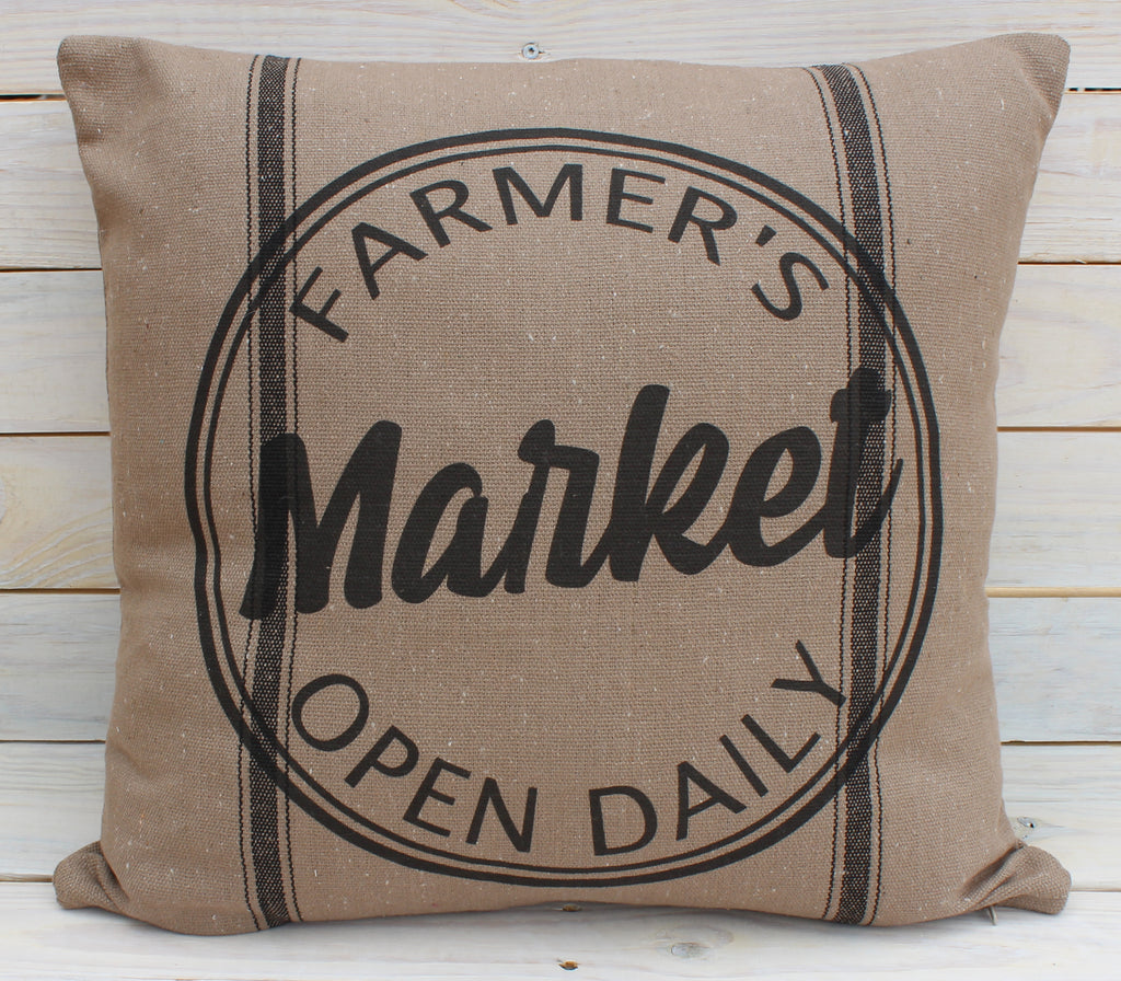 Farmer's Market Black 16x16