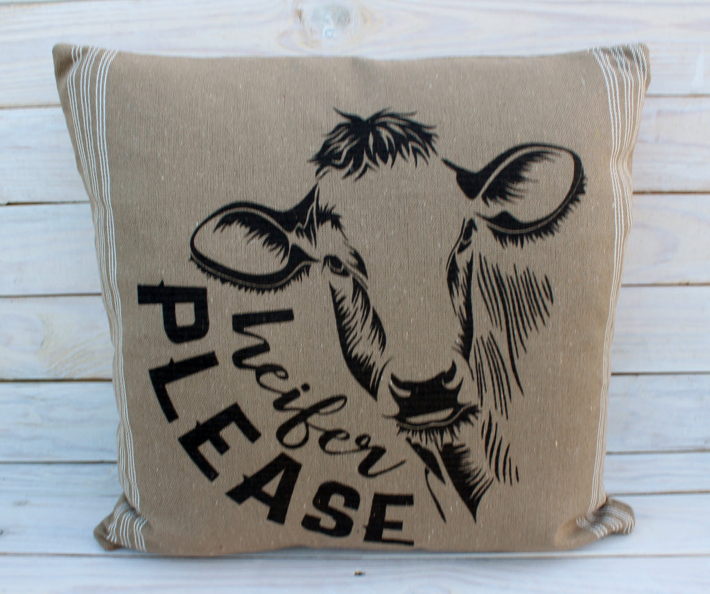 Heifer Please Pillow 20x20