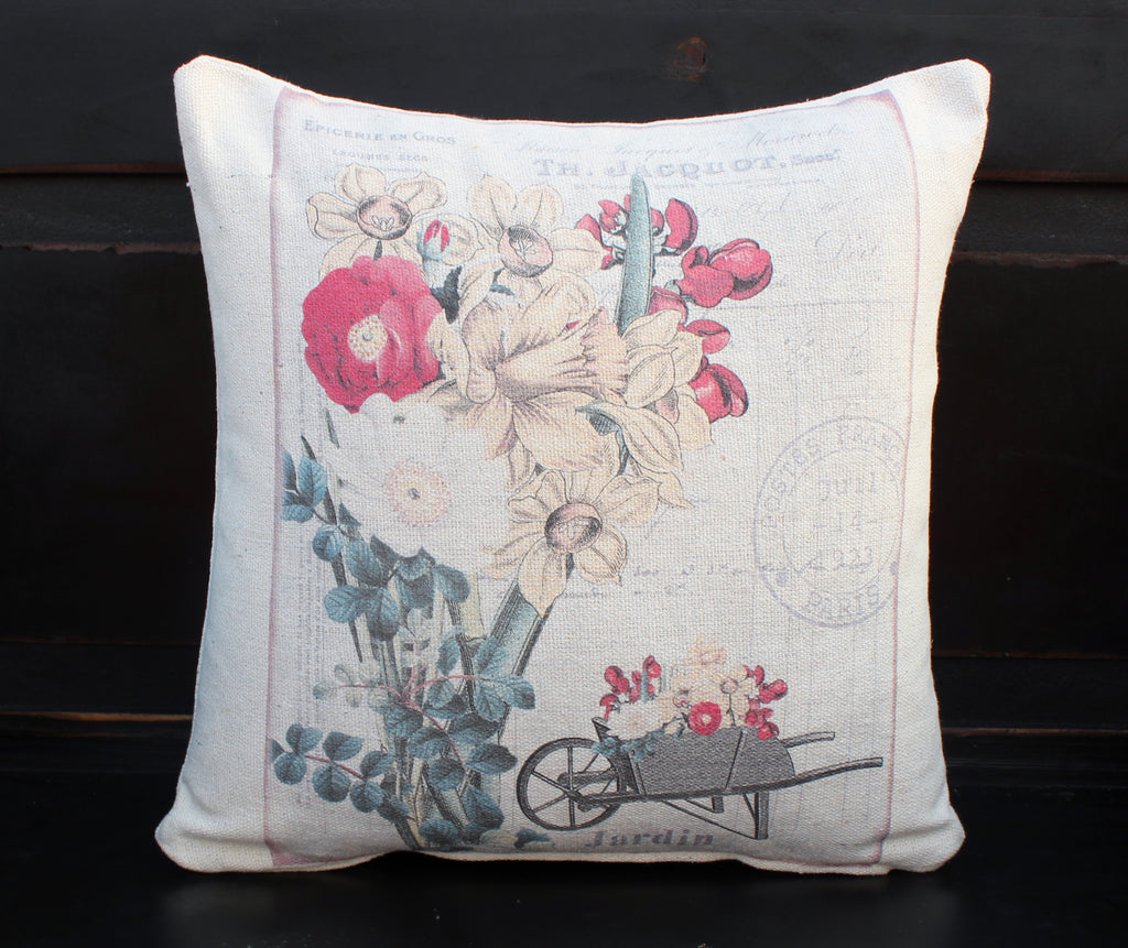 Jardin Floral Post Pillow