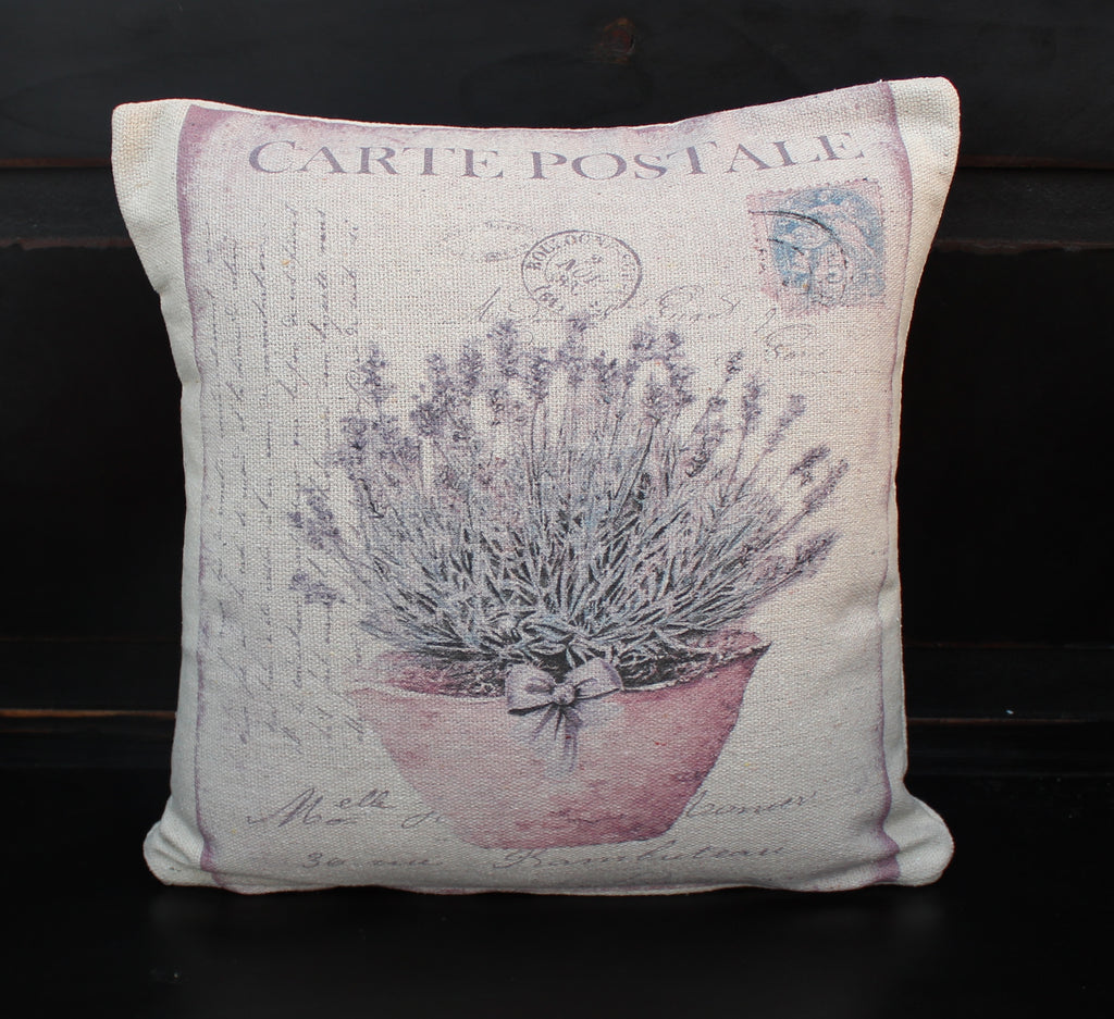 Lavender Pot Pillow