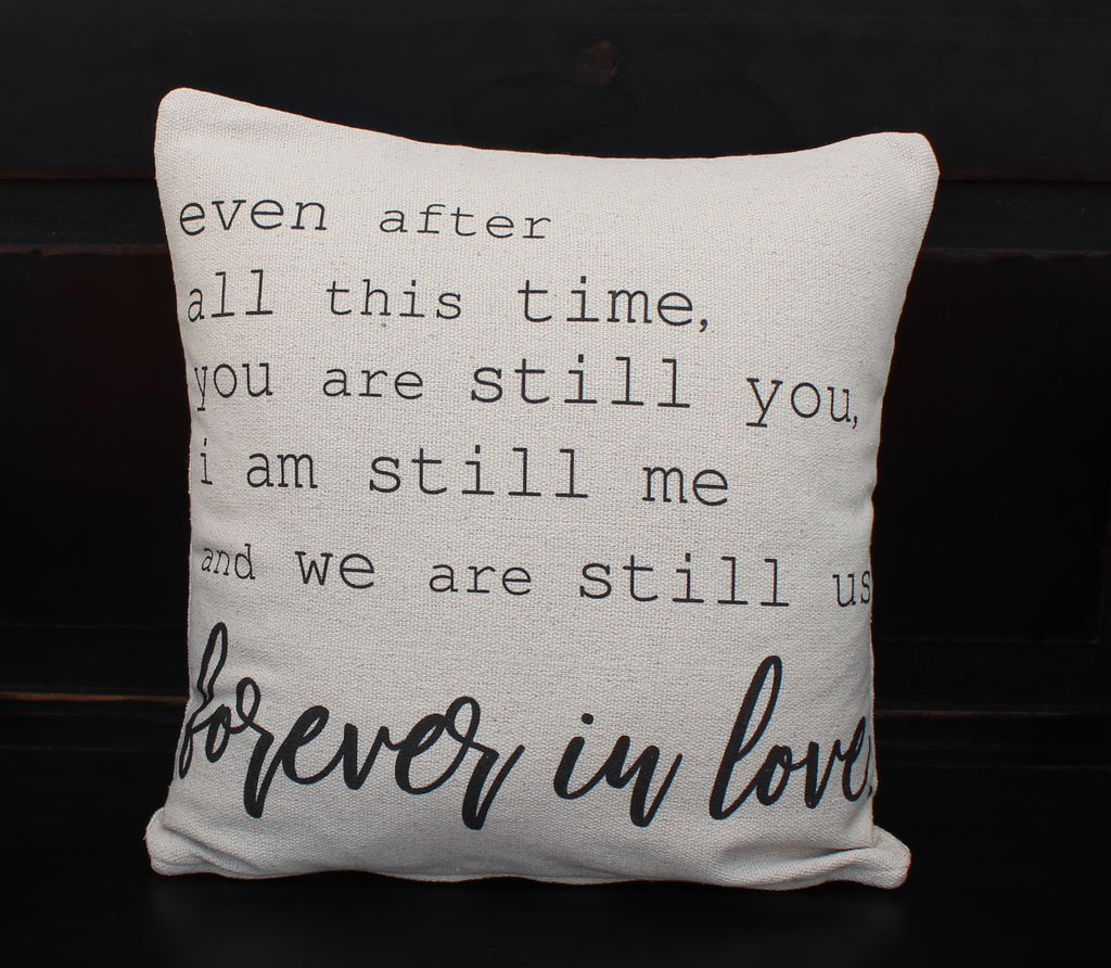 Forever In Love Pillow