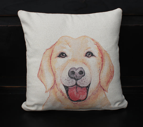 Lab Dog Pillow