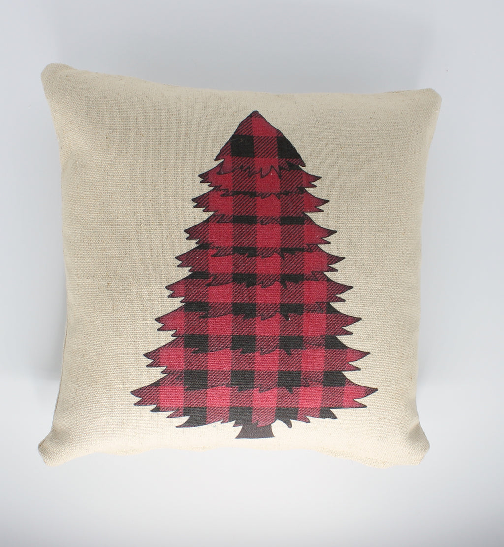Buffalo Tree Pillow