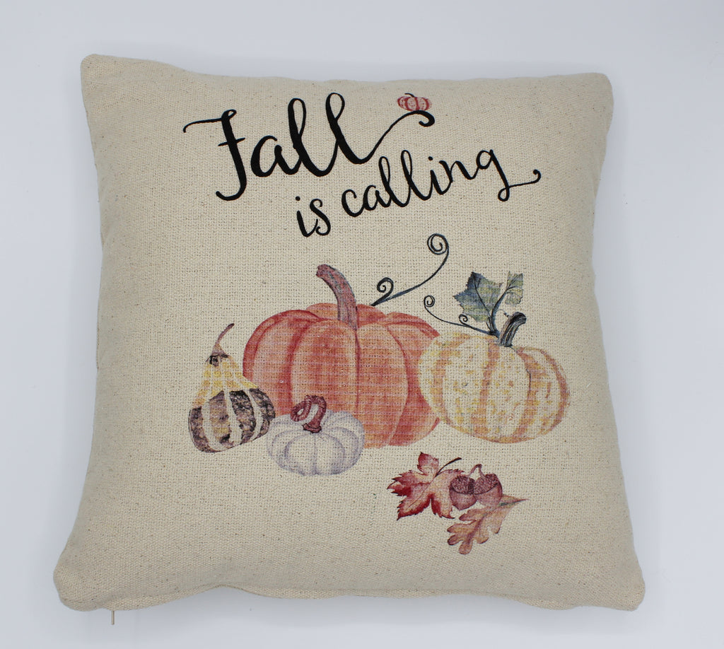 Fall Is Calling Pillow