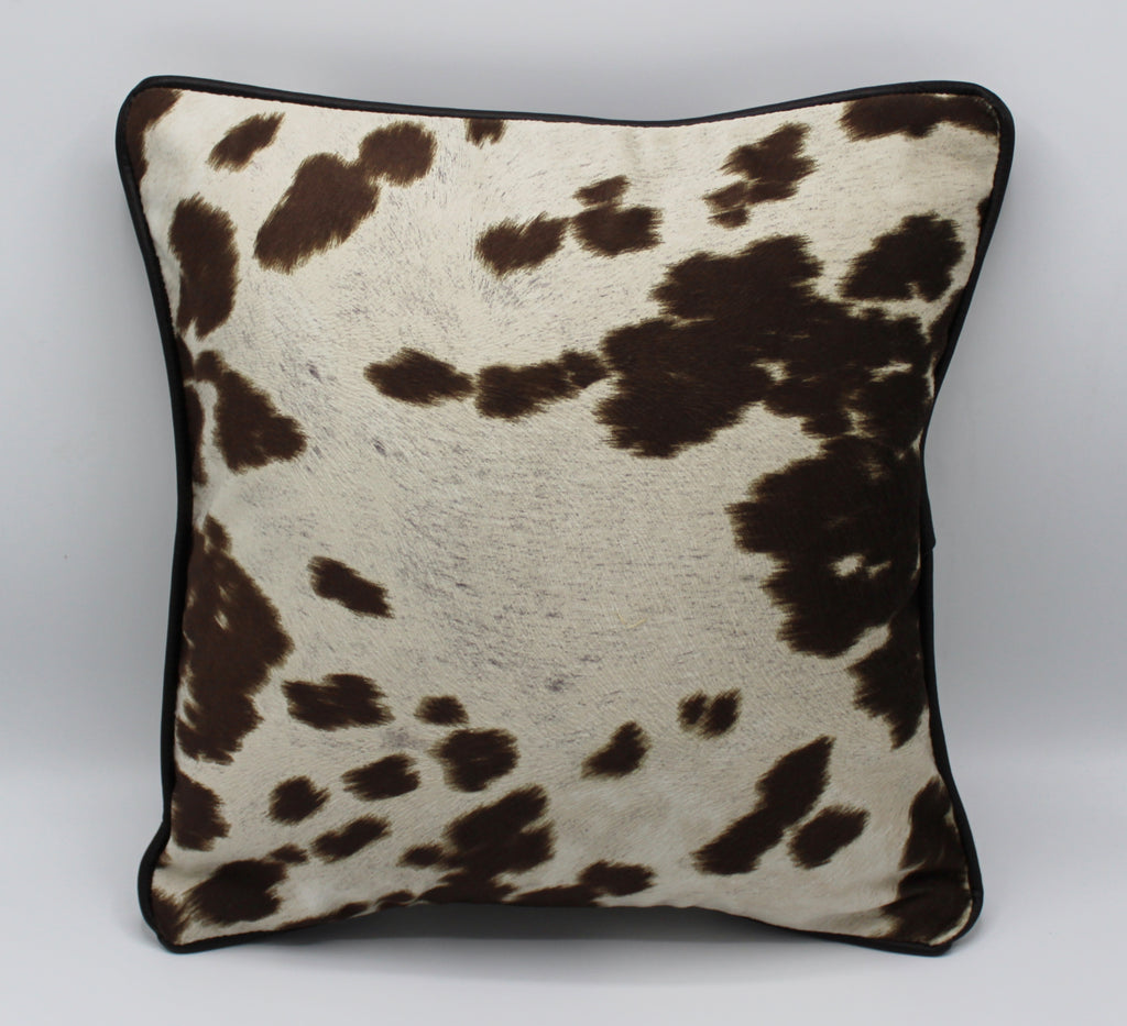 Cowhide Piped Pillow