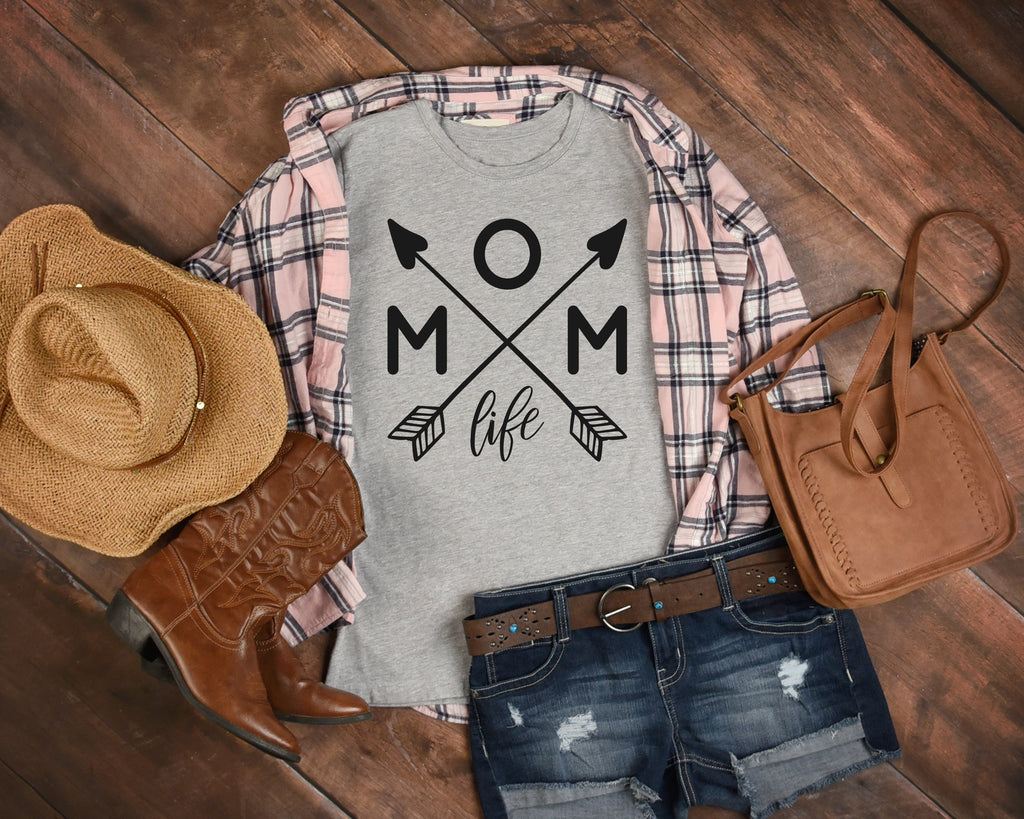 Mom Life Arrows TShirt