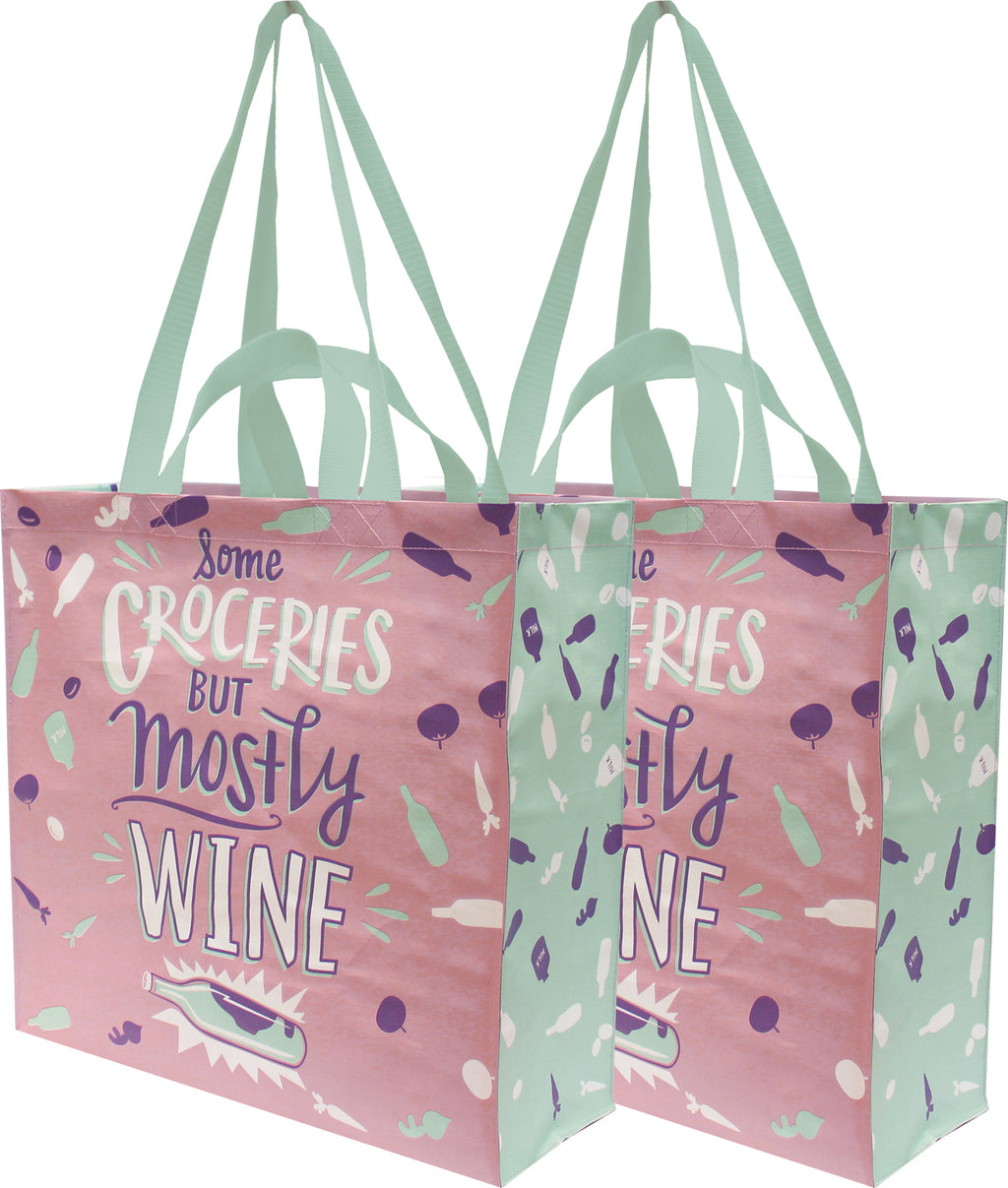Mostly Wine Tote