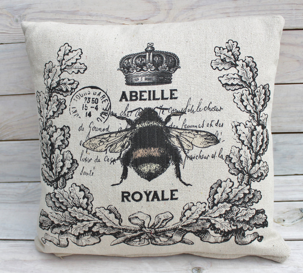 Royale Bee Pillow