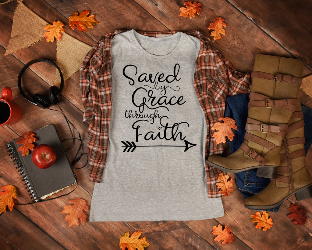 Saved By Grace Tshirt