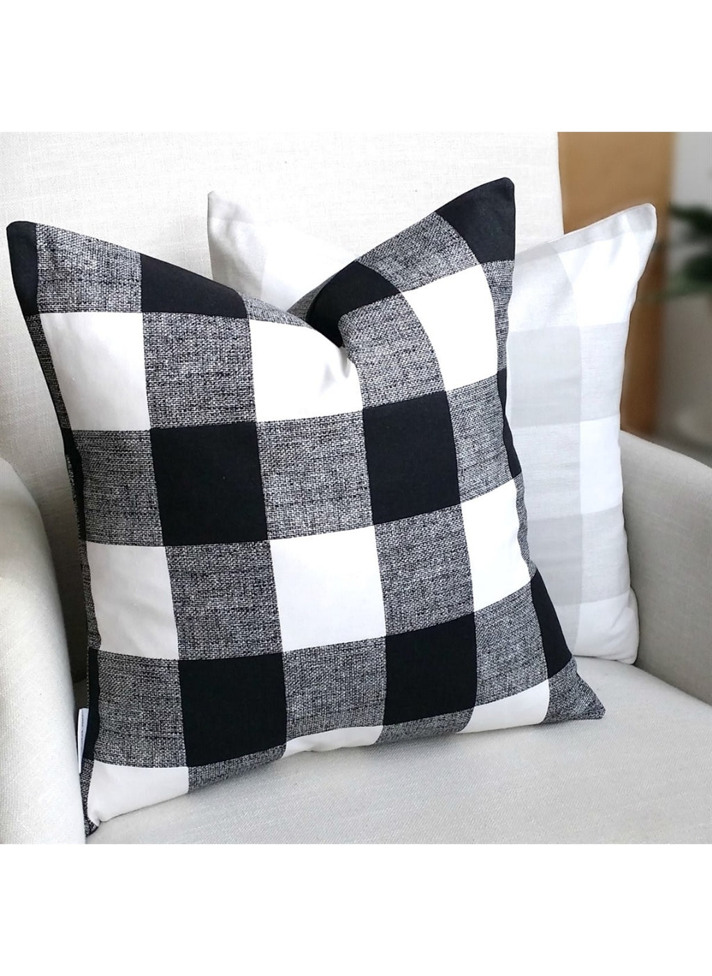 Large Buffalo Check Pillow