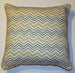 Spa Taupe Chevron Pillow