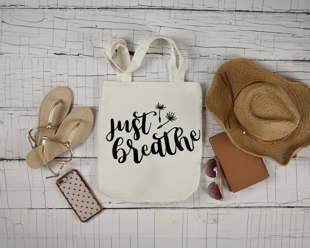 Just Breathe Tote