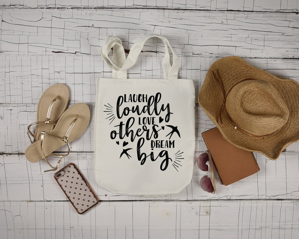 Laugh Loudly Tote