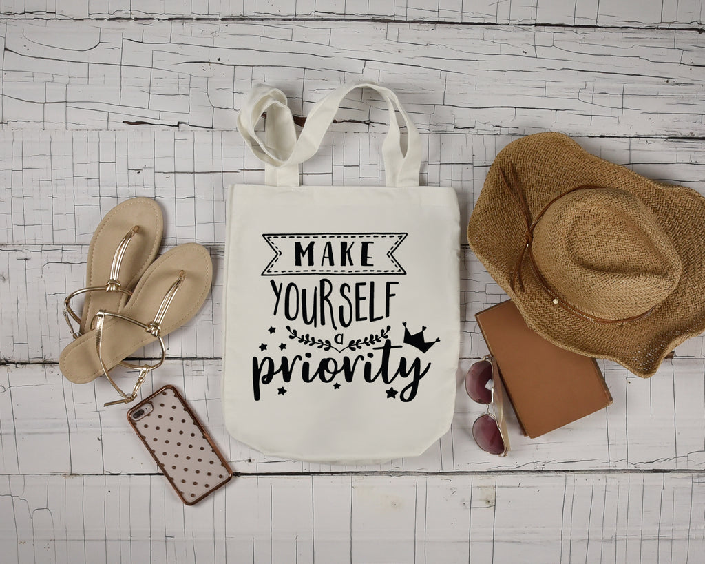 Make Yourself Priority Tote