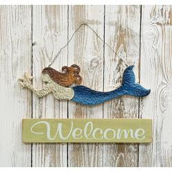 Welcome Mermaid Sign