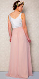 ESTHER Blush Pink Bridesmaid Skirt Quality Bohemian Style Skirt you will wear again