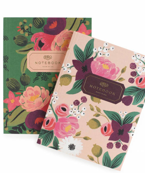 Vintage Blossom Notebook Set