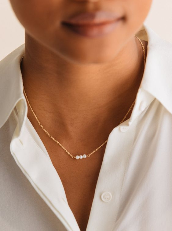 Serendipity Necklace: Pearl