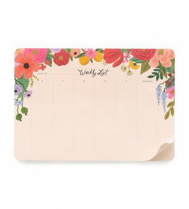 Garden Party Desk Pad