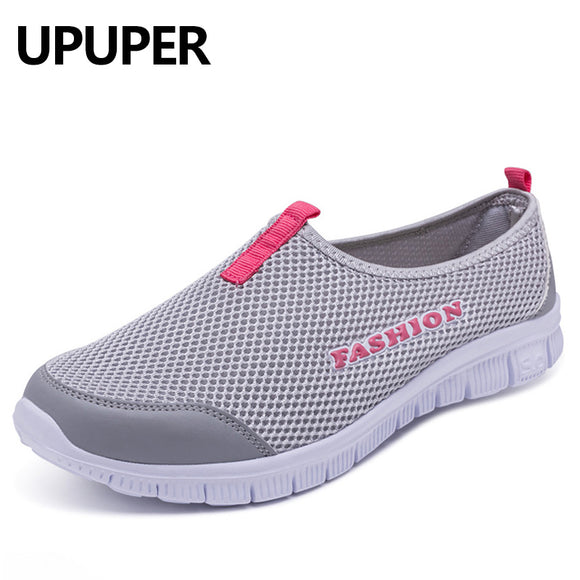 ff6d78632dcd5c 2018 New Women Light Sneakers Summer Breathable Mesh Female Cheap Casual  Shoes Lady Walking Outdoor Sport