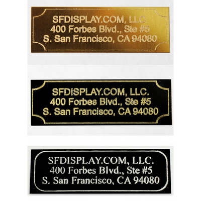 Custom Engraved Name Plates